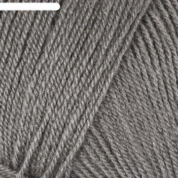Пряжа superlana tig 25% шерсть, 75% акрил 570м/100гр (87 угольно-серый)
