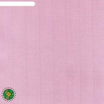 Пододеяльник этель basic 145*215 ± 3см, цв. розовый, страйп-сатин, 125 гр/