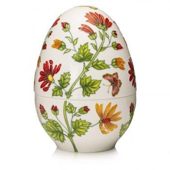 Шкатулка lamart palais royal яйцо 18см, керамика