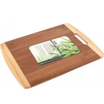 Доска разделочная 40*30*1 см, бамбук