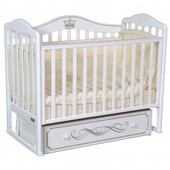 Детская кровать bellini letizia elite автостенка, универсальный маятник, ц