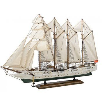Модель парусного корабля j s elkano 72 см