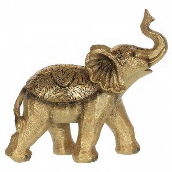 Фигурка декоративная слон, l19,5 w7,5 h18,5 см