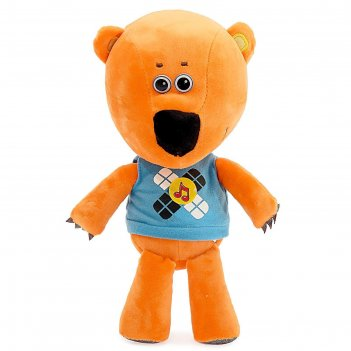 Мягкая музыкальная игрушка ми-ми-мишки. медвежонок кеша, 25 см