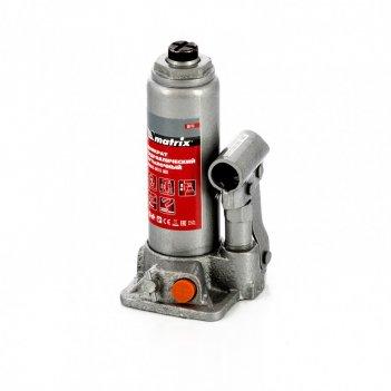 Домкрат гидравлический бутылочный, 2 т, h подъема 181-345 мм, в пластиково