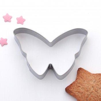Форма для вырезания печенья бабочка