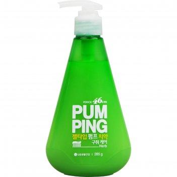Зубная паста perioe breath care pumping toothpaste, освежающая, 285 г