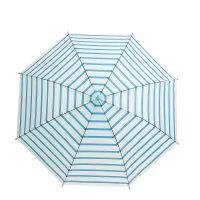 Зонт детский полуавтоматический полосочки, r=46см, цвет голубой