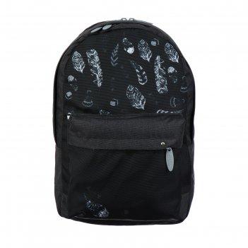 Рюкзак молодёжный с эргономичной спинкой, calligrata, 38 х 28 х 19, «листь