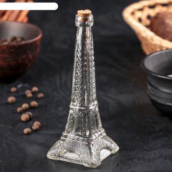 Бутылка для масла 50 мл париж, 15 см