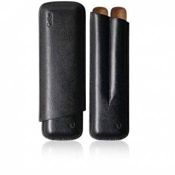 Чехол для сигар colibri 2 finger churchill c-10010cc