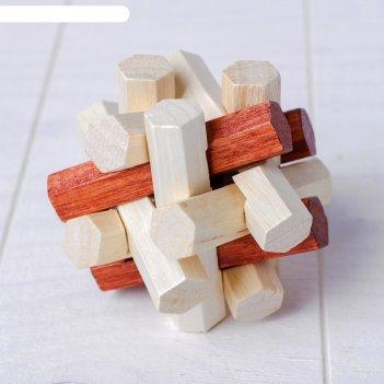 Деревянная игрушка «головоломка № 2»