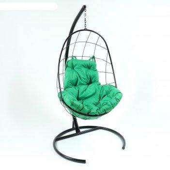 Кресло-качели подвесные овал зеленый