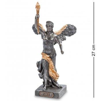 Ws- 82 статуэтка богиня ника с факелом
