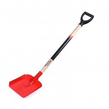 Лопата совковая, черенок с v-образной ручкой