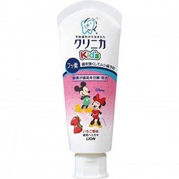 Детская зубная паста укрепляющая, со вкусом клубники, 60 г