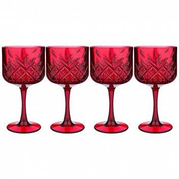 Набор фужеров для вина из 4 шт.timeless бордо 500 мл (кор=6набор.)