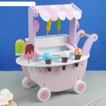 Игровой набор тележка с мороженым