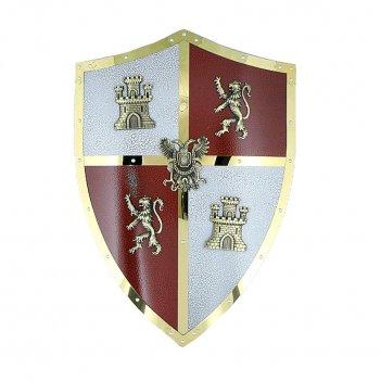 Щит рыцарский - декоративный короли католики