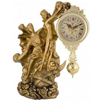 Скульптурные часы из полимерных смол восток 8316-1