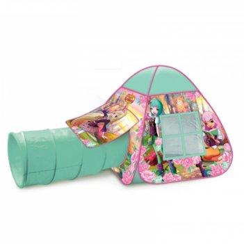 Детская палатка «королевская академия» с тоннелем