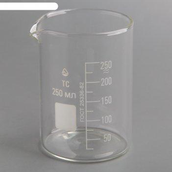 Стакан мерный н-1-250 мл  тс (со шкалой) (рф)