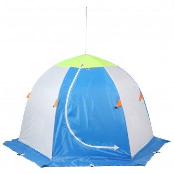 Палатка медведь 2 местная, 6 лучей 3-х слойная термостёжка