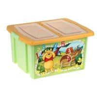 Ящик для хранения игрушек 30 л disney микс (для девочек)