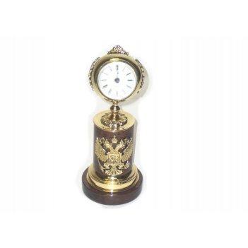 Часы подарочные из обсидиана