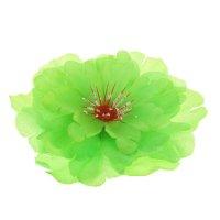 Гавайский зажим пион, цвет зеленый