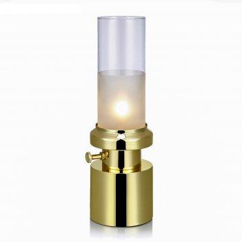 Настольная лампа pir 1x28вт g9 латунь