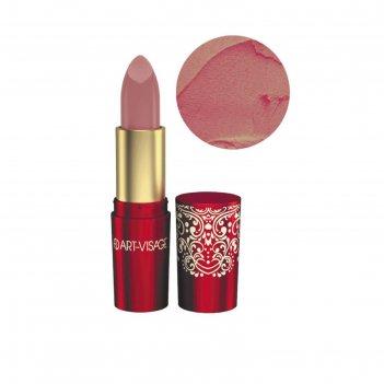 Губная помада art-visage «кашемир», тон 318, розовая элегия, 4,5 г
