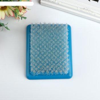 Щетка-подушка для фильцевания (фелтинга) 9,5х11х4,7 см