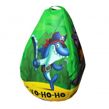 Мешок-рюкзак-подушка, спинка для тюбингов st4, small rider bags пираты (зе