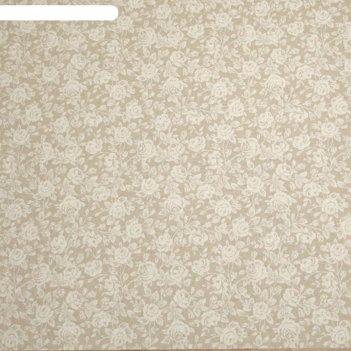 Клеенка столовая mirha, 140 см, рулон 20 п.м., римини 7673/33