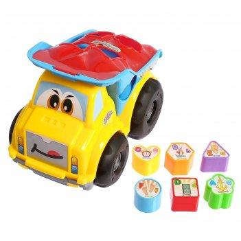 Развивающая логику игрушка-сортер грузовик