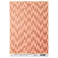 Бумага для творчества зигзаги, 21 х 29,7 см