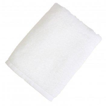 Полотенце махровое экономь и я 30*60 см белый, 100% хлопок, 340 г/м2