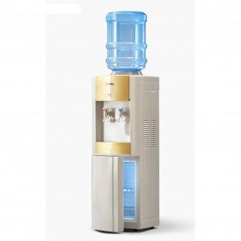 Кулер для воды ael lc-ael-280 b, компрессорный, нагрев 5 л/ч, холодильник