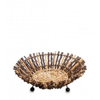 63-034-03 декоративная корзинка малая (о.бали)