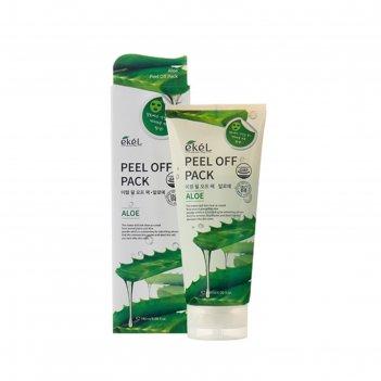 Маска-плёнка ekel peel-off pack aloe с экстрактом алоэ, 180 г