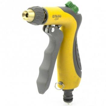 Пистолет-распылитель, трехрежимный, регулятор напора, курок спереди, эргон