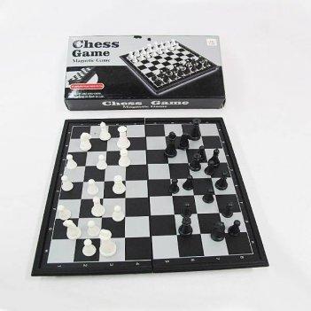 Игра настольная шахматы (магнитные, дорожные), 19х10х4 см
