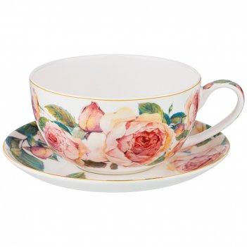 Чайный набор 1пер. винтаж 2пр.  430мл (кор=24наб.)