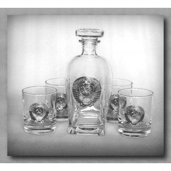 Набор для виски 307 ссср. арт. ншт307ср-24