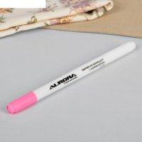 Маркер для ткани, исчезающий, с корректором, au-648, цвет розовый