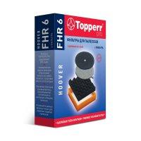 Комплект фильтров topperr fhr6 для пылесосов hoover sensory, discovery, oc