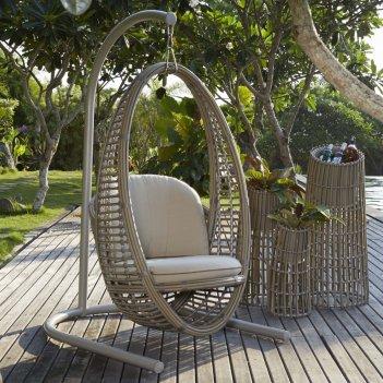 Кресло качели в сад skyline design heri, садовая мебель
