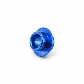Спейсер fox (проставка между двумя подшипниками) синий
