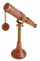 Сувенирный телескоп с 8-ми кратным увеличением антик